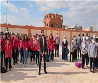 محافظ شمال سيناء يتفقد عددًا من مدارس العريش