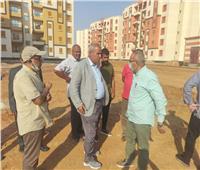 «الإسكان» يتابعون سير العمل بمشروعات مدينة حدائق العاصمة
