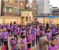 استمرار انتظام الدراسة وسط إجراءات احترازية بـ ١٠١٨ مدرسة بدمياط
