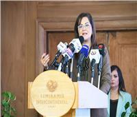 وزيرة التخطيط تشارك في مؤتمر «دور التحويلات النقدية في زيادة الاستثمارات»