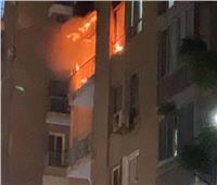 السيطرة على حريق نشب بعقار سكني بالخانكة في القليوبية