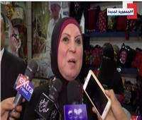 وزيرة التجارة: حضور الرئيس لمعرض تراثنا رسالة دعم واهتمام بالمشروعات الصغيرة