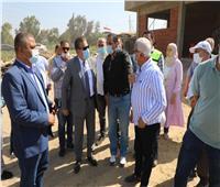 محافظ المنوفية يدشن التشغيل التجريبي لمشروع صرف صحي شبرا قبالة | صور