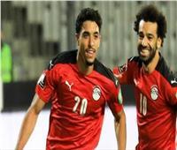 محمد صلاح يحتفل بفوز المنتخب علي ليبيا بأغاني مهرجانات | فيديو