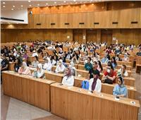 حقوق عين شمس تستقبل الطلاب الجدد| صور