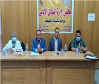 عبده الزراع في ضيافة نادي أدب منيا القمح