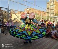 ثقافة القليوبية تواصل حملة طرق الأبواب بقرية منشأة الكرام