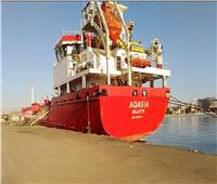 اقتصادية قناة السويس: تفريغ 3400 طن رخام بميناء غرب بورسعيد