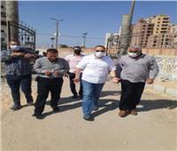 محافظ الشرقية يتفقد أعمال إنشاء متنزه للعائلات بكفر أبو حسين