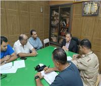 اجتماع تنسيقي لربط محطة تحلية المياه الجديدة بالخطوط الرئيسية بالعريش