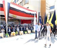 احتفالية بذكرى انتصارات أكتوبر المجيدة بـ «جامعة المنصورة»