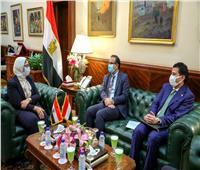 وزيرة الصحة تستقبل نظيرها اليمني لبحث تعزيز التعاون في القطاع الصحي