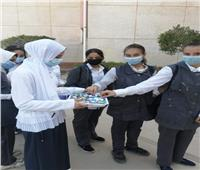 وزير التعليم ينشر صورًا لبداية العام الدراسي بمدرسة السادات في المنوفية