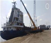 اقتصادية قناة السويس: تفريغ 985 سيارة وتداول 22 سفينه بموانئ بورسعيد