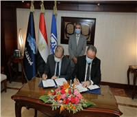 أسامة ربيع يشهد توقيع بروتوكول تعاون مع الهيئة العامة للتأمين الصحي الشامل