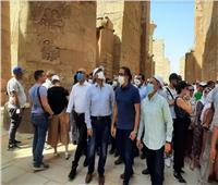 كيف تزينت الأقصر لاستقبال الكرنفال الفرعوني لافتتاح طريق الكباش