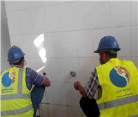 مياه سوهاج: تركيب قطع موفرة بمقرات الشركة لترشيد استهلاك المياه