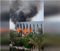 فيديو  لا خسائر بشرية في حريق مهرجان الجونة