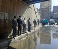 محافظ الغربية يشهد الاستعدادات لموسم الأمطار