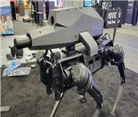 كلب يحمل «مدفع» .. سلاح من أفلام الخيال العلمي ينضم قريبا للجيش الأمريكي