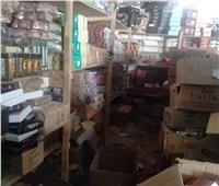 ضبط مستحضرات تجميل مجهولة المصدر بأحد المخازن في الإسكندرية