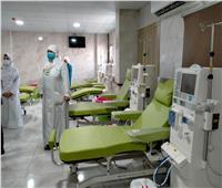 """مساعد وزيرة الصحةووكيلة صحة سوهاج يفتتحان وحدة """" التصلب المتعدد"""" بالمستشفى العام"""