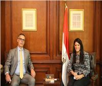 المشاط تناقش برنامج تعاون مرتقب بين مصر وسويسرا
