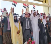 حماة الوطن تحتفل بالذكرى الـ48 لانتصارات أكتوبر  بجنوب سيناء