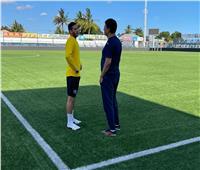 بيراميدز يصل ملعب عزام لأداء أول تدريباته في تنزانيا