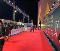 التجهيزات النهائية لحفل افتتاح الدورة الـ5 من مهرجان الجونة السينمائي   صور