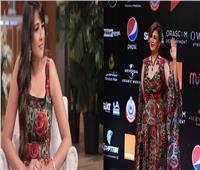 مفاجأة.. إلهام شاهين ترتدي فستان ياسمين عبد العزيز في مهرجان الجونة |صور