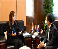 وزيرة التخطيط تناقش مع سفير تايلاند مجالات جذب المستثمرين