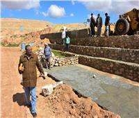 ترشيد وتأمين.. تأهيل السدود والوديان لمجابهة مخاطر السيول بصحراء مطروح| صور