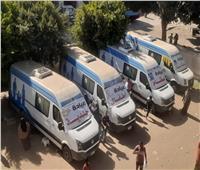 الكشف وتوفير العلاج لـ1700 مواطنا في قافلة طبية ببني سويف