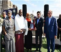 وزير الرياضة يطلق شارة تحرك سفينة النيل للشباب العربي بمشاركة 13 دولة