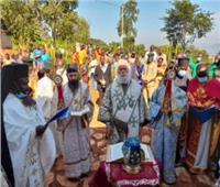 البابا ثيودروس يفتتح دير القديسة باراسكيفي بأوغندا