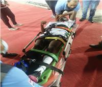 إصابة لاعب جورماهيا الكيني بكسر بمشط القدم في مباراة كأس الاتحاد الأفريقي