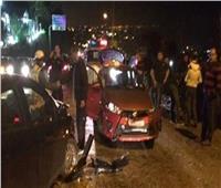 إصابة 5 أشخاص في حادث تصادم بمنطقة الشروق