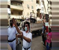 خلال حملات مكثفة.. تحرير 1700 محضر إشغال طريق بالجيزة