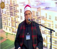 بدء احتفالية افتتاح مشروعات إسكان بديل المناطق غير الآمنة بالقرآن الكريم