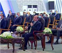 الرئيس السيسي: البناء على الأراضي الزراعية قضية تهم الدولة والمواطن