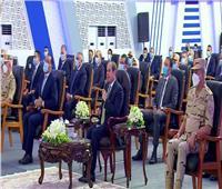 «أنت كده بتاكل في أرضك».. الرئيس السيسي يحذر المواطنين من هذا الأمر