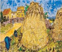 لوحة «أكوام القش» لفان جوخ تعرض في مزاد بـ20 مليون دولار