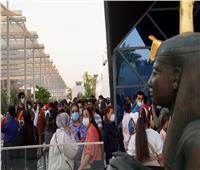 وزيرة الصناعة: 80 ألف زائر للجناح المصرى بـ«إكسبو دبي»| صور