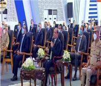 الرئيس السيسى يزف بشرى لـ أهالي مدينة الأمل