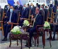الرئيس السيسي لوزير الإسكان: «لسه بدري»
