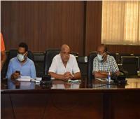 سكرتير محافظة البحر الأحمر يتابع الموقف التنفيذي لبدء تطوير حلقة السمك