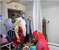 وكيل صحة الشرقية يتفقد مستشفى ديرب نجم.. ويستمع لمرضى الغسيل الكلوي
