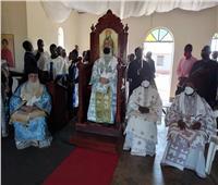 البابا ثيودروس يزورأسقفية جولو بأوغندا