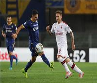 الدوري الإيطالي  هيلاس فيرونا يضرب ميلان بهدفين في الشوط الأول